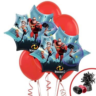 The Incredibles 2 Jumbo Balloon Bouquet