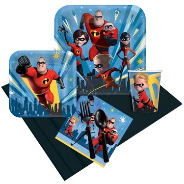 The Incredibles 2 Party Pack for 8