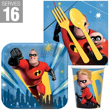 The Incredibles 2 Snack Pack for 16