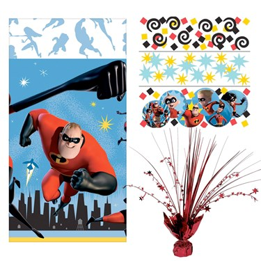 The Incredibles 2 Table Decoration Kit