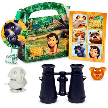 The Jungle Book Filled Party Favor Box