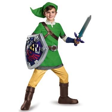 The Legend of Zelda: Deluxe Link Costume For Kids