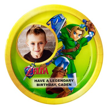 The Legend of Zelda Personalized Dinner Plates