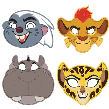 The Lion Guard Paper Masks (8)