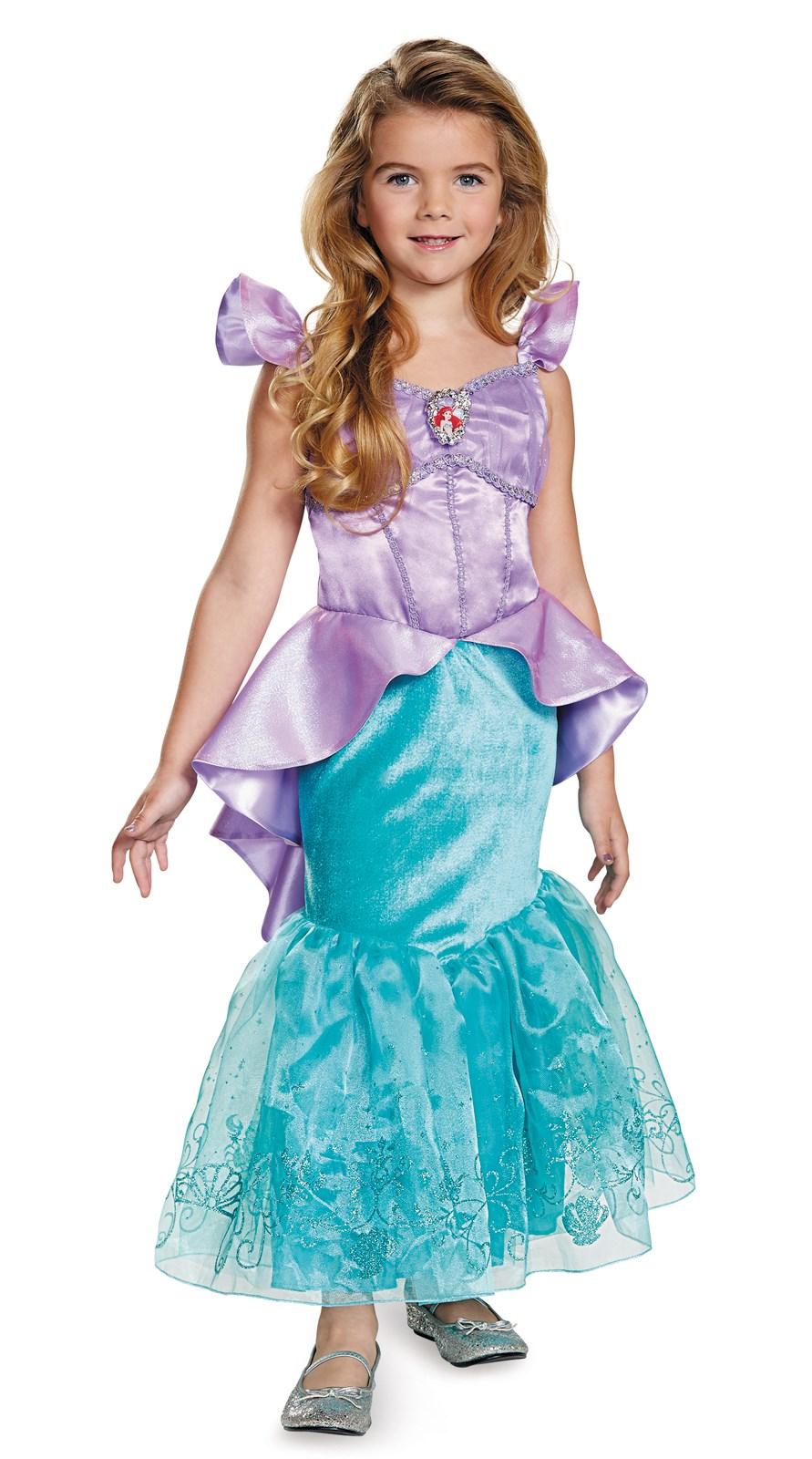 The Little Mermaid Storybook Ariel Prestige Toddler / Child Costume ...