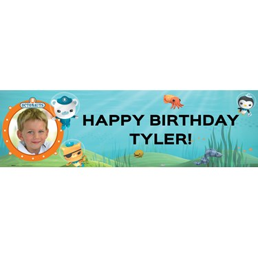 The Octonauts Personalized Photo Vinyl Banner