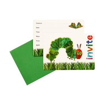 The Very Hungry Caterpillar Invites (12)