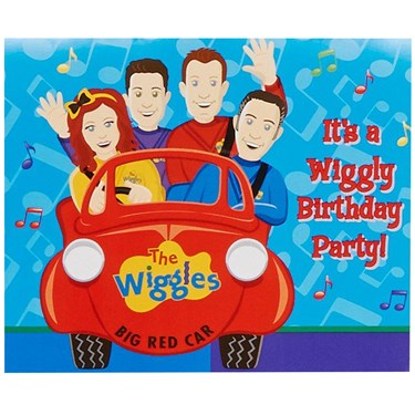 The Wiggles Invitations (8)