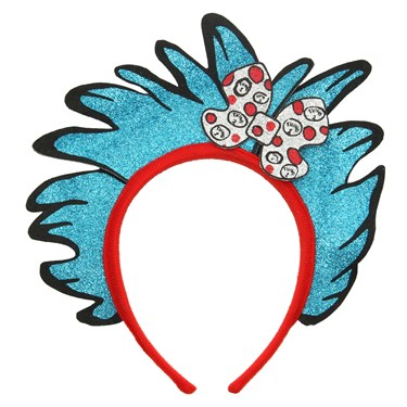 Thing 1 and 2 Glitter Child Headband