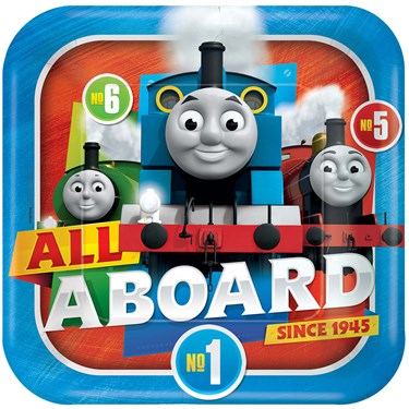Thomas All Aboard Dinner Plates (8)