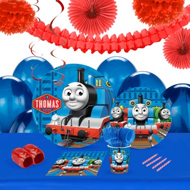 Thomas The Train 16 Guest Tableware & Deco Kit