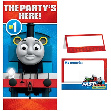 Thomas the Train All Abaord Party Welcome Kit