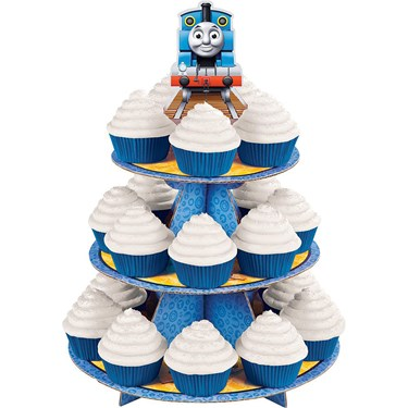 Thomas The Train Cupcake And Treat Stand