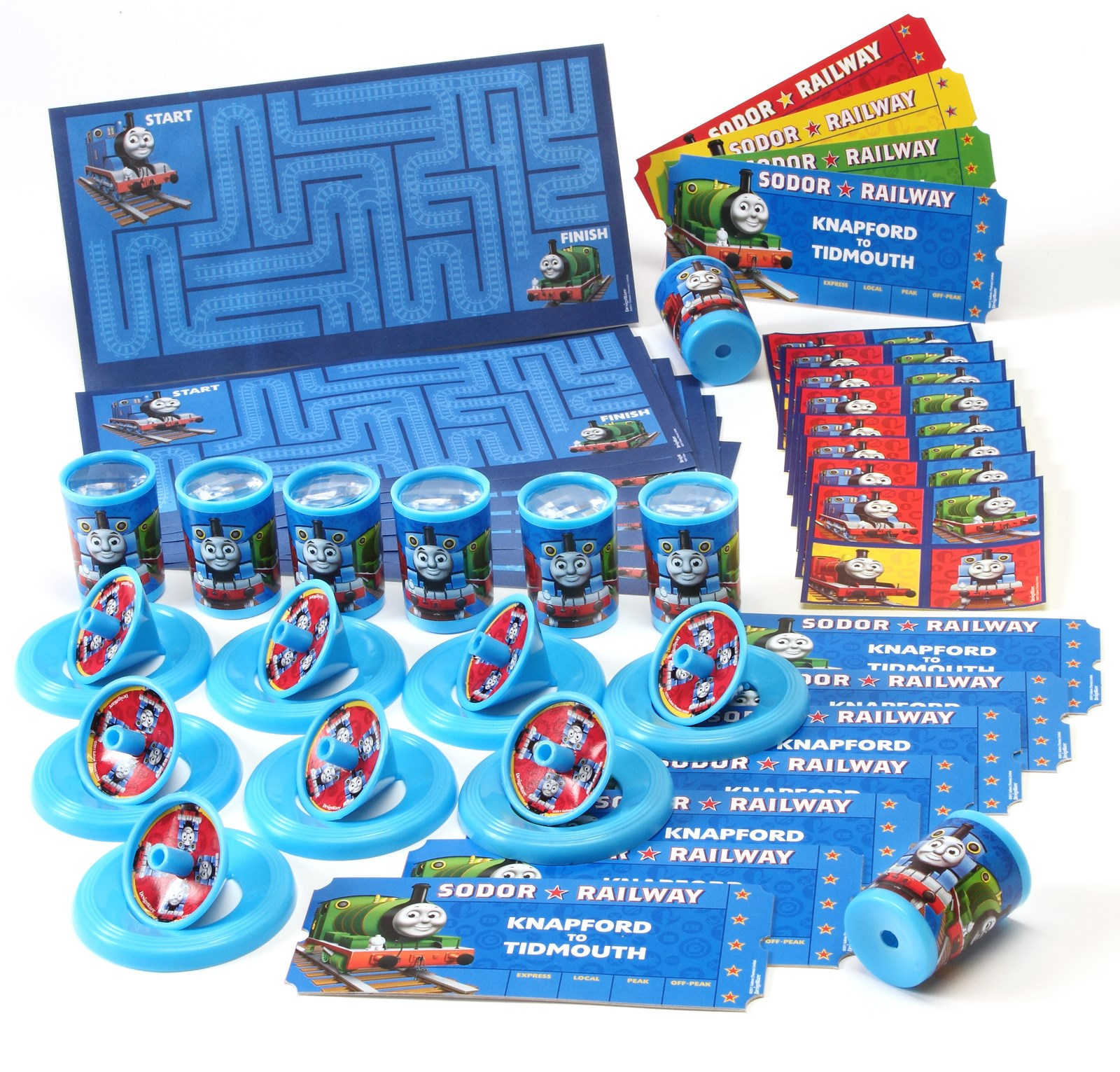 Thomas the Train Party Favor Value Pack | BirthdayExpress.com