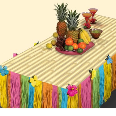 Tiki Table Decoration Package