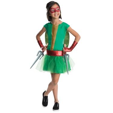 TMNT - Deluxe Raphael Girl Tutu Costume