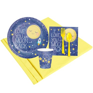To The Moon & Back 8 Guest Party Pack
