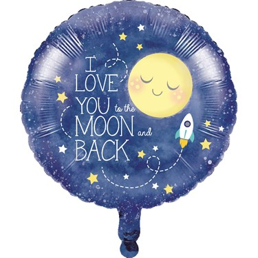 To the Moon & Back Foil Balloon