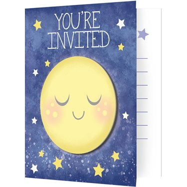 To the Moon & Back Invitations (8)