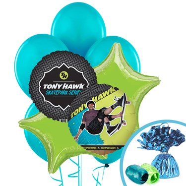 Tony Hawk Skatepark Series Balloon Bouquet