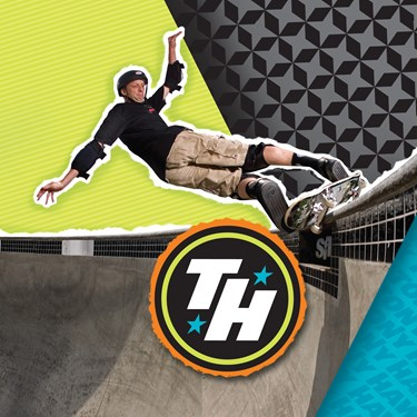 Tony Hawk Skatepark Series Lunch Napkins