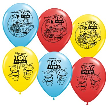 Toy Story 12 Latex Balloons (6)