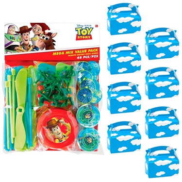 Toy Story Filled Favor Box Kit  (For 8 Guests)
