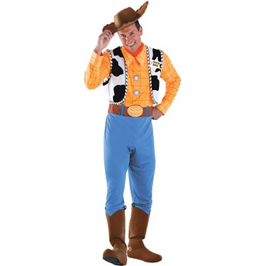Toy Story - Woody Deluxe Adult Costume | BirthdayExpress.com