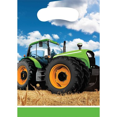 Tractor Time  Treat Bags(8)