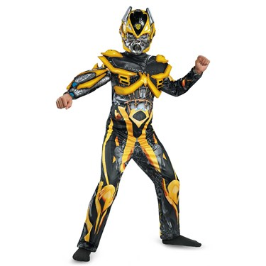 Transformers Age of Extinction -  Deluxe Bumblebee Child Costume