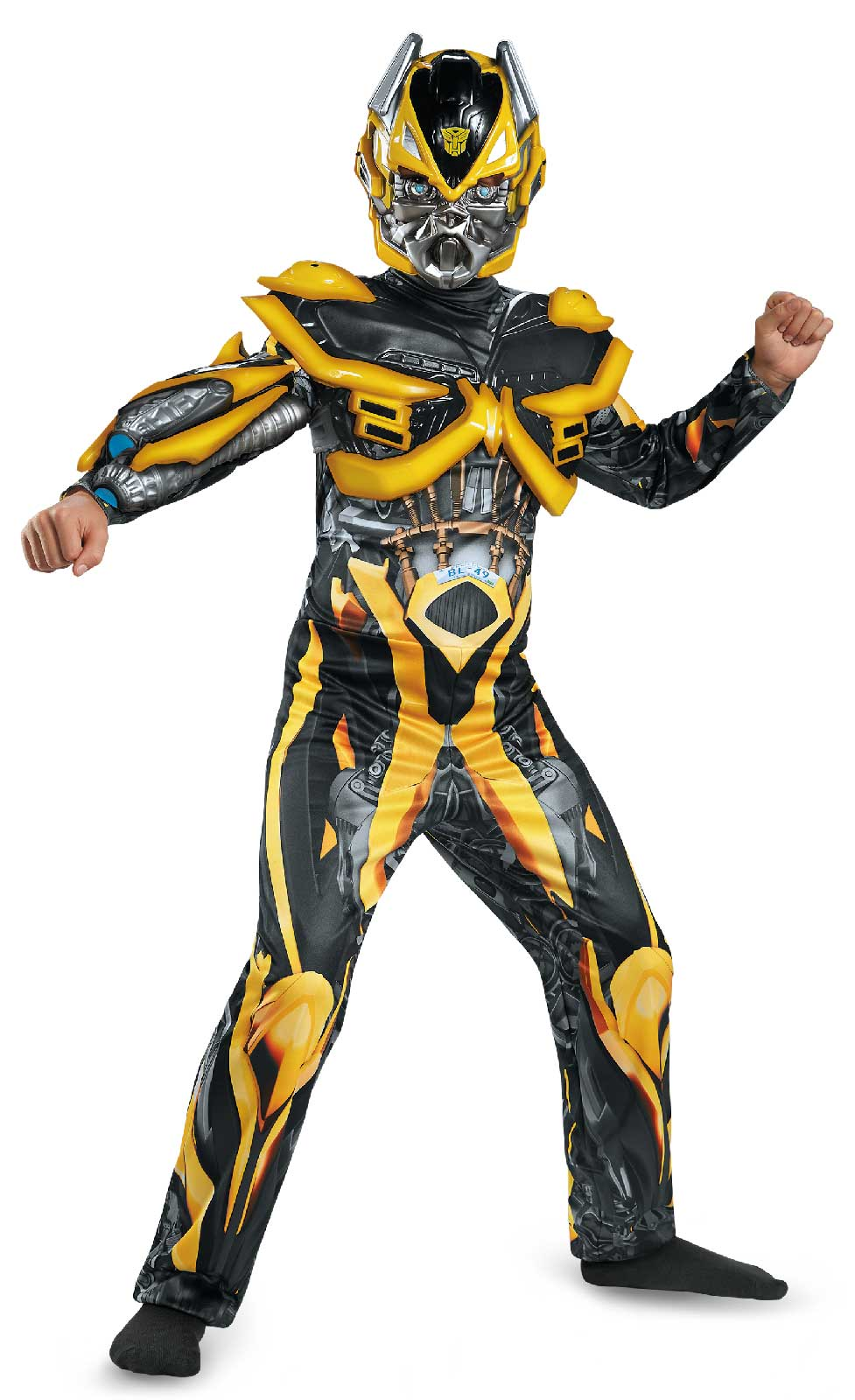 default image age of extinction deluxe bumblebee child costume