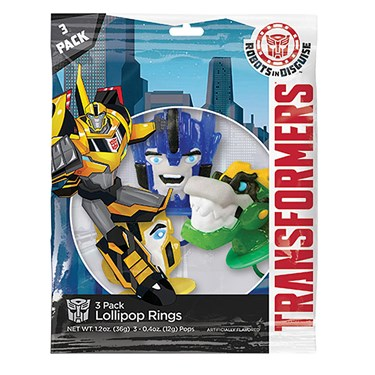Transformers Lollipop Rings (3)