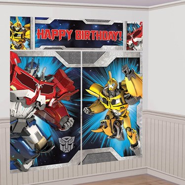 Transformers Scene Setter Wall Decorating