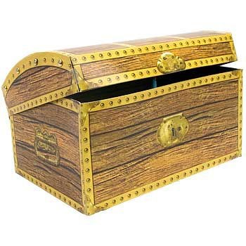 Treasure Chest 3-d Centerpiece