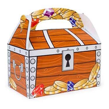 Treasure Chest Favor Box (12)