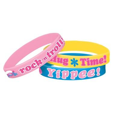 Trolls Rubber Bracelets(6)