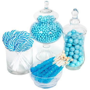 Turquoise Candy Buffet