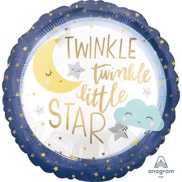 Twinkle Little Star Standard Foil Balloon