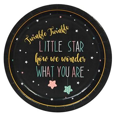 Twinkle Twinkle How We Wonder Dinner Plate (8)