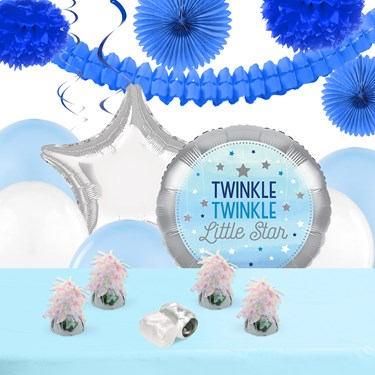 Twinkle Twinkle Little Star Blue Deco Kit
