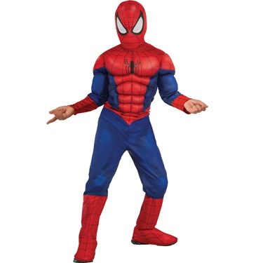 Ultimate Spider-Man Muscle Chest Child Costume