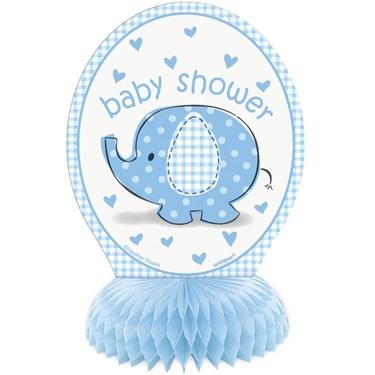 Umbrellaphants Blue Mini Honeycomb Decor