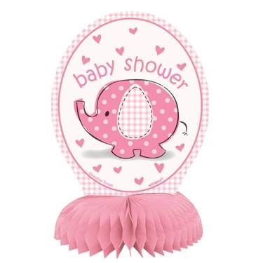 Umbrellaphants Pink Mini Honeycomb Decor