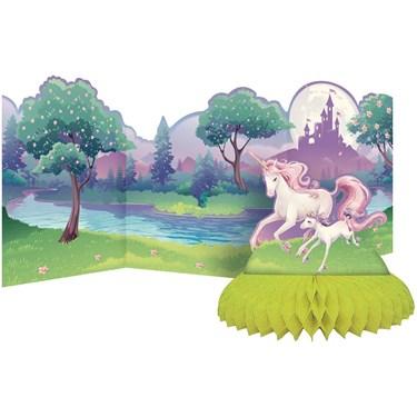 Unicorn Fantasy Honeycomb Centerpiece Se