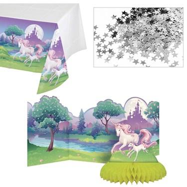 Unicorn Fantasy Table Decoration Kit