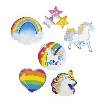 Unicorn Glitter Cutouts (6)