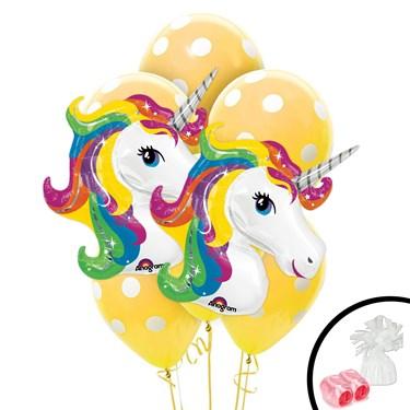 Unicorn Jumbo Balloon Bouquet