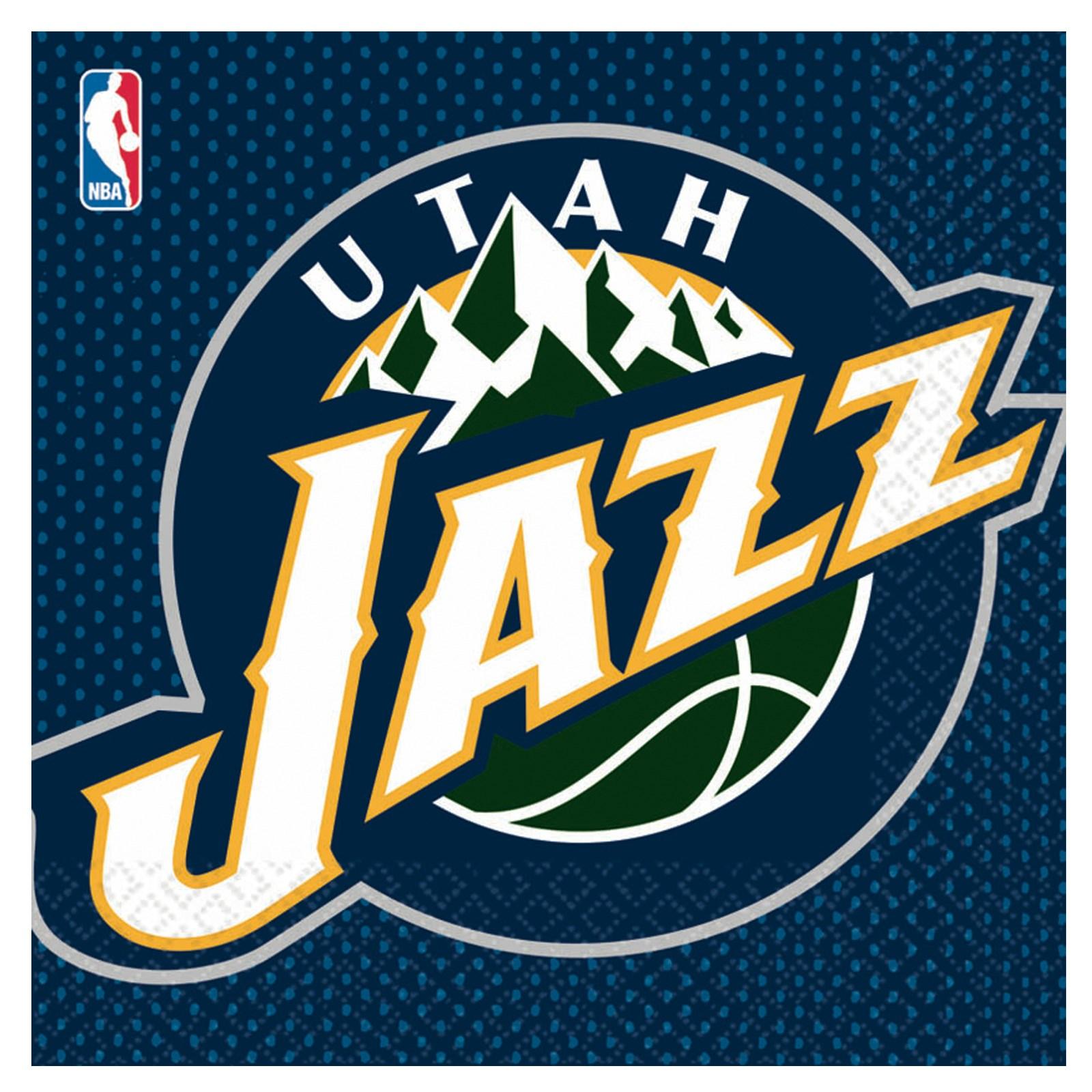 Utah Jazz Basketball Lunch Napkins BirthdayExpresscom