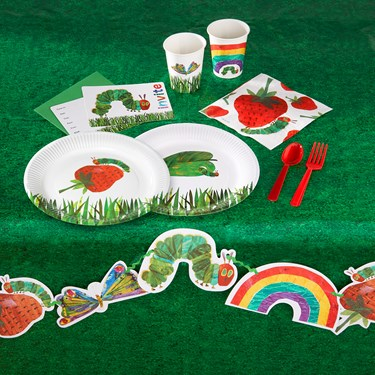 Very Hungry Caterpillar 24 Guest Party Pack