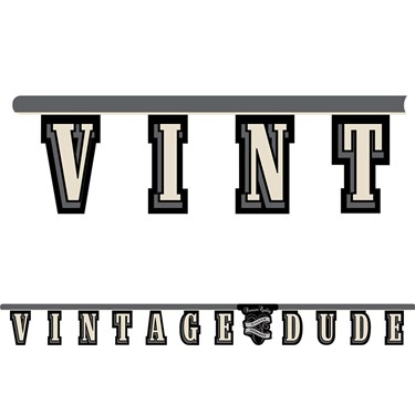 Vintage Dude Jointed Banner (1)